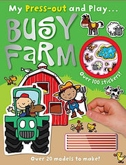 My Press Out and Play: Busy Farm