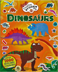 Creative Sticker Play: Dinosaurs