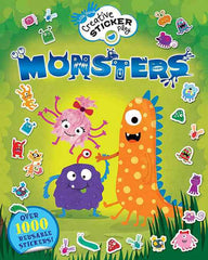 Creative Sticker Play: Monsters