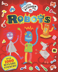 Creative Sticker Play: Robots