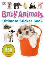 DK Ultimate Sticker Book: Baby Animals
