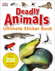 DK Ultimate Sticker Book: Deadly Animals
