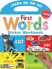 Learn on the Go!: First Words Sticker Workbook
