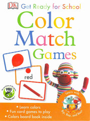 DK Get Ready For School: Color Match Games