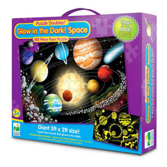 Puzzle Doubles Glow In Dark Space