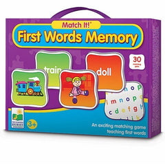 Match it! First Words Memory