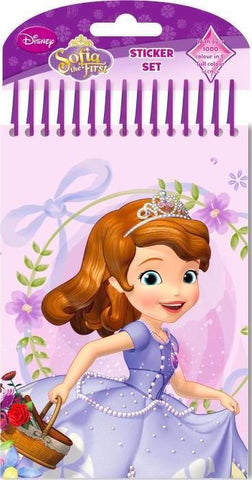 Sofia The First: Colour Your Own Sticker Set