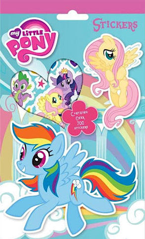 700 Stickers: My Little Pony