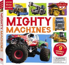 Look Read Learn: Mighty Machines