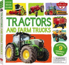 Look Read Learn: Tractors And Farm Trucks