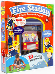 Fire Station Activity and Playset