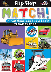 Flip Flap Match!: Things That Go
