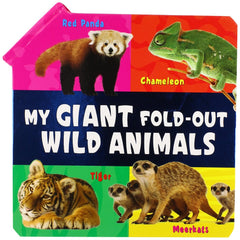 My Giant Fold-Out: Wild Animals