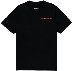 HOMECOMING STICKER TEE BLACK