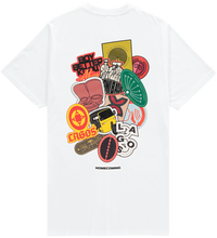 Load image into Gallery viewer, HOMECOMING STICKER TEE WHITE