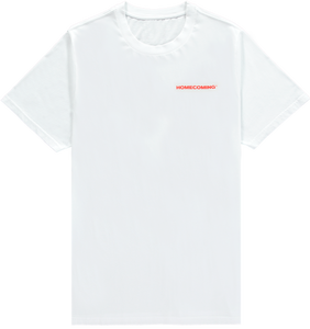 HOMECOMING STICKER TEE WHITE