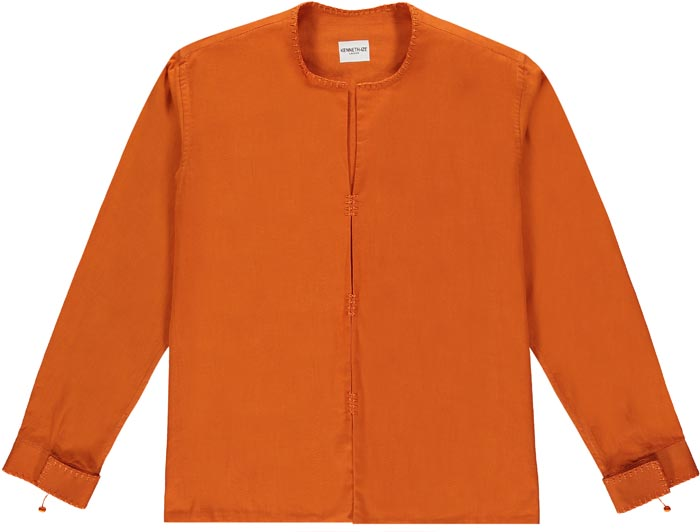 Kenneth Ize Iko Shirt | Orange