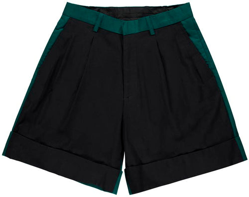 Kenneth Ize Shorts | Black-Green