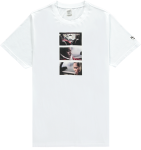 MOTHERLAN AWAKE BELLY TEE WHITE