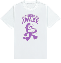 Load image into Gallery viewer, MOTHERLAN AWAKE FELIX TEE PURPLE