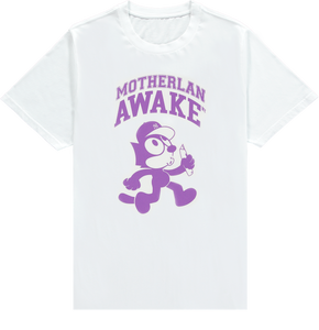 MOTHERLAN AWAKE FELIX TEE PURPLE