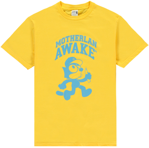 MOTHERLAN AWAKE FELIX TEE YELLOW