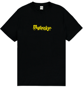 MOTHERLAN AWAKE TEE YELLOW