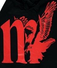 Load image into Gallery viewer, MOTHERLAN EAGLE LOGO TEE RED
