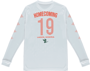 NIKE HOMECOMING L/S JERSEY WHITE
