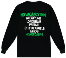 Load image into Gallery viewer, NO VACANCY INN TEE BLACK