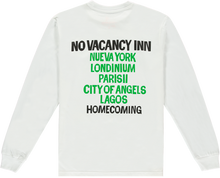 Load image into Gallery viewer, NO VACANCY INN TEE WHITE