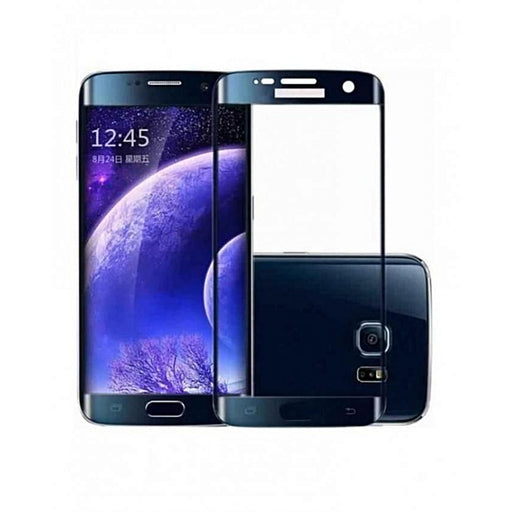 tempered glass screen protector samsung s7 blue