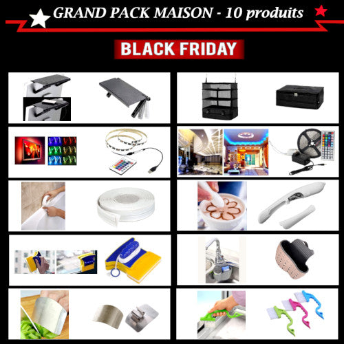Grand pack de black friday