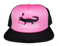 Mesh Back Cradlebaby Flat Bill Hat