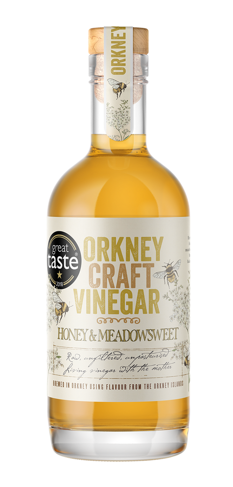 Honey & Meadowsweet Vinegar