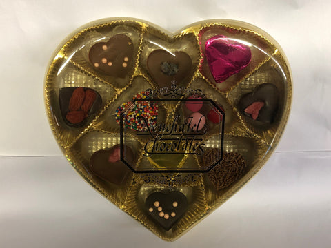 Picture of Limited Edition Assorted Chocolate Heart Gift Box