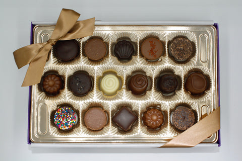 Picture of Assorted Chocolate Gift Box - 16 Piece