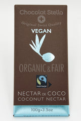 Organic Fair Trade Vegan Coconut Chocolate Bar