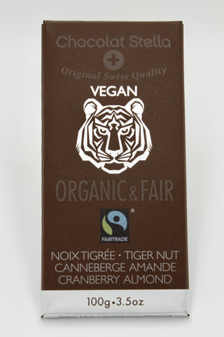 Picture of Organic Fair Trade Vegan Tiger Nut Cranberry Almond Bar