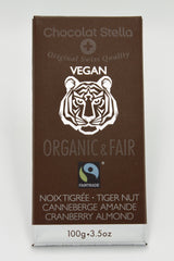 Organic Fair Trade Vegan Tiger Nut Cranberry Almond Bar
