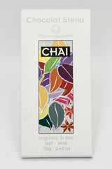 Organic Fair Trade Milk Chocolate with Chai