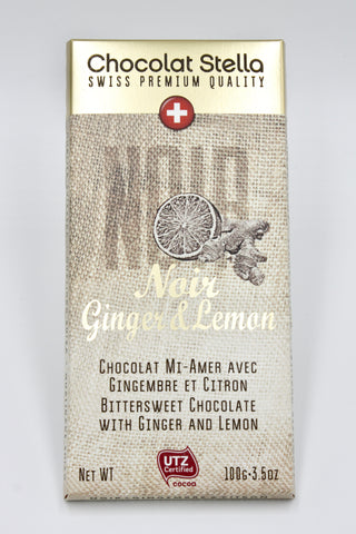 Picture of Bittersweet Chocolate with Ginger and Lemon