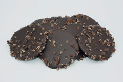 ChocoEve Dark Chocolate Disks with Cacao Nibs