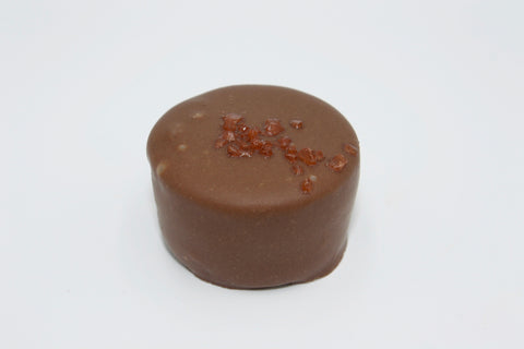 Picture of ChocoEve Milk Chocolate Caramel Cup with Hawaiian Sea Salt - 8 Piece Gift Box