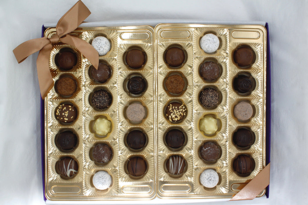 Assorted Truffle Gift Box - 32 Piece