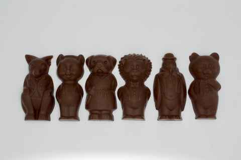 Picture of Swiss Chocolate Animal Gentlemen