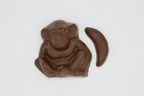 Picture of Swiss Chocolate Monkey with Banana
