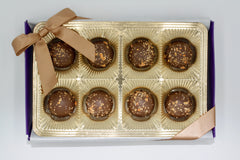 Pumpkin Pie Truffle Gift Box- 8 Piece