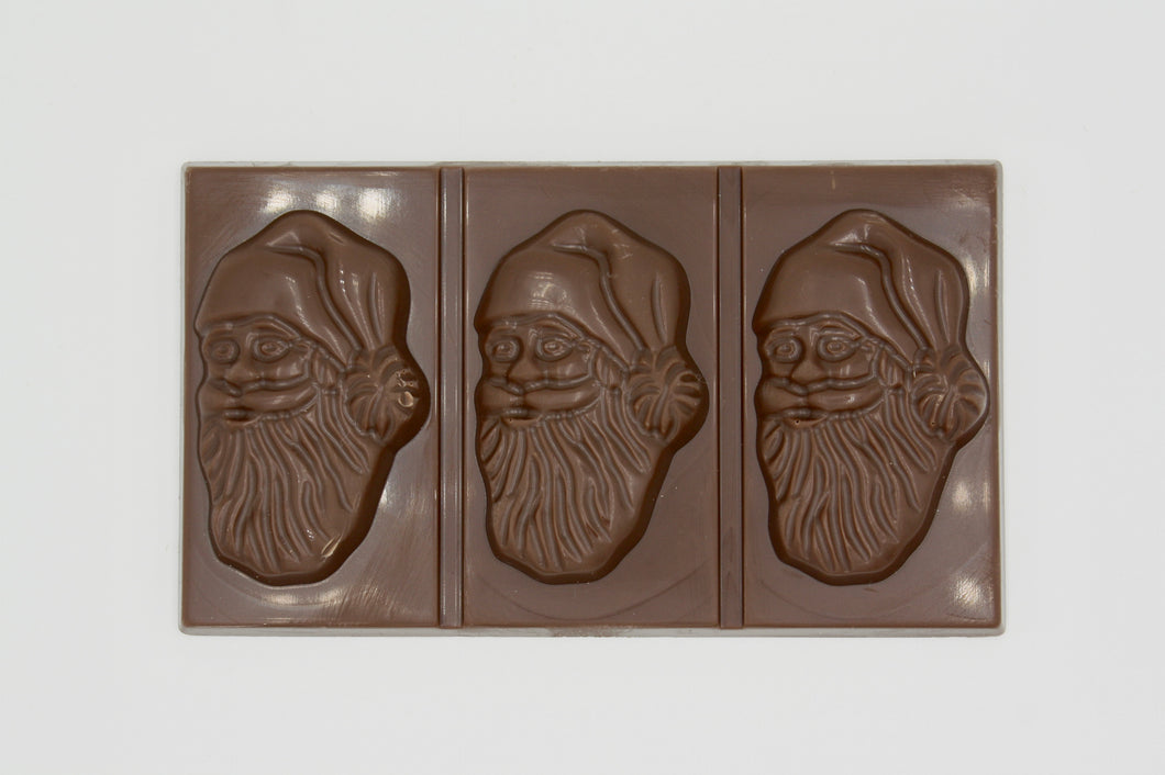 Swiss Chocolate Santa Bar