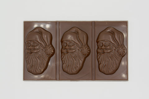 Picture of Swiss Chocolate Santa Bar
